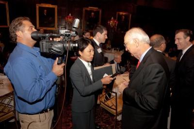 Interviewing Senator Phil Gramm